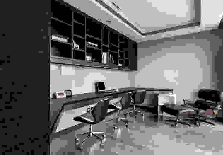 書房 根據 大企國際空間設計有限公司 現代風