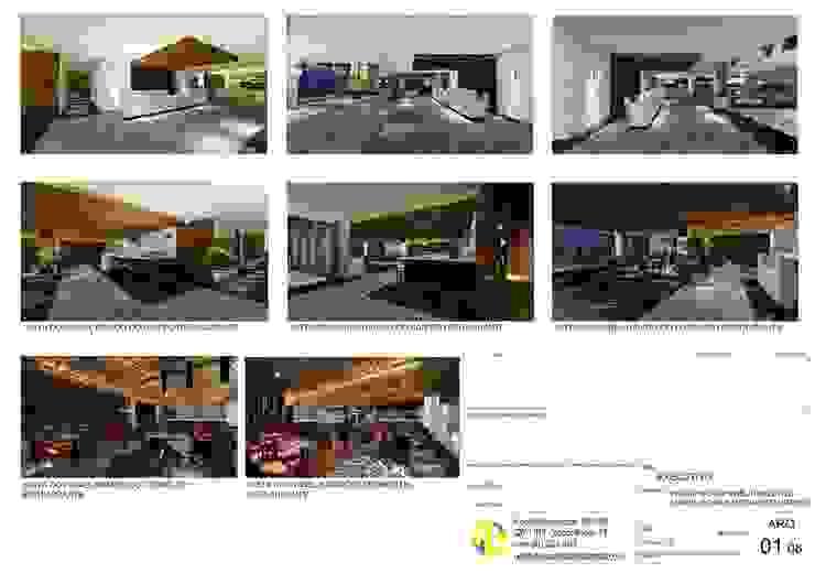 Arquitetura Sônia Beltrão & associados Modern hotels MDF Wood effect