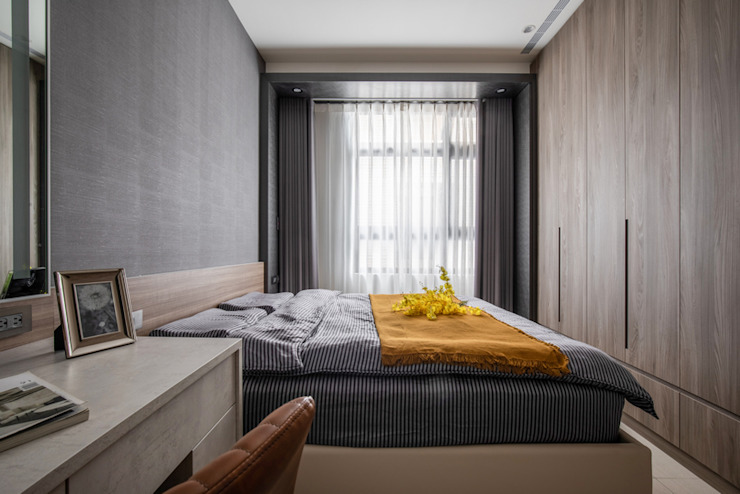 Smile Century – Condominium interior design 勻境設計 Unispace Designs 臥室