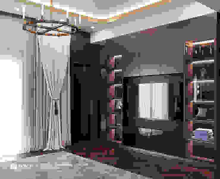 Thiết kế nội thất nhà phố Nguyễn Phong Sắc Công ty TNHH xây dựng và kiến trúc Homy Việt Nam BedroomAccessories & decoration