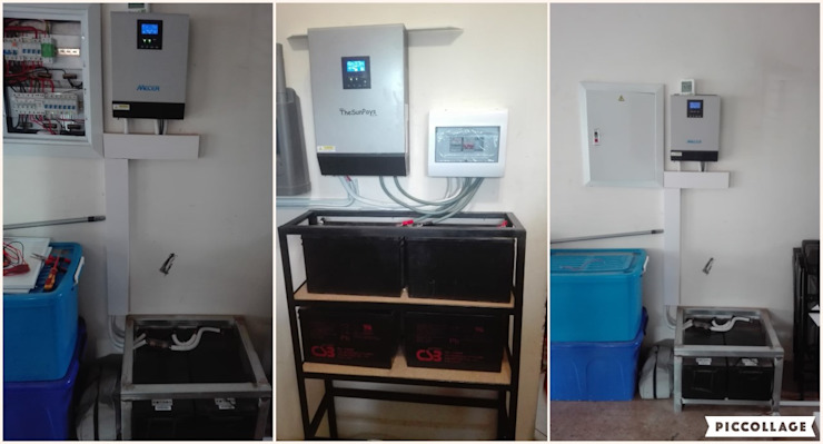 Emergency Electrical Services Modern garage/shed by Centurion Electricians and Plumbers (The Electric Plumber) Modern
