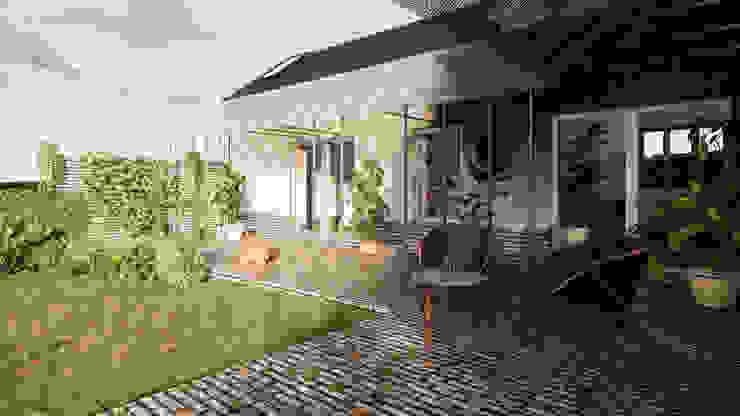 Solar Veranda 02 - East Yorkshire Passivhaus by Samuel Kendall Associates Limited Сучасний Алюміній / цинк
