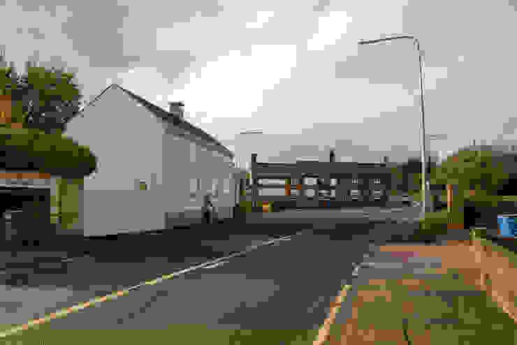 Proposed Street Scene - East Yorkshire Passivhaus by Samuel Kendall Associates Limited Сучасний