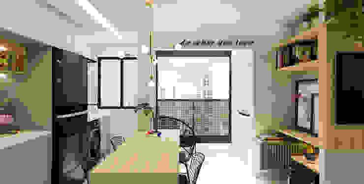 Arquiteto Virtual - Projetos On lIne Balcón Concreto Gris