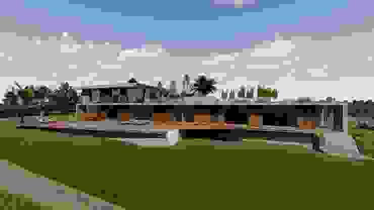 MJARC - Arquitetos Associados, lda บ้านสำหรับครอบครัว