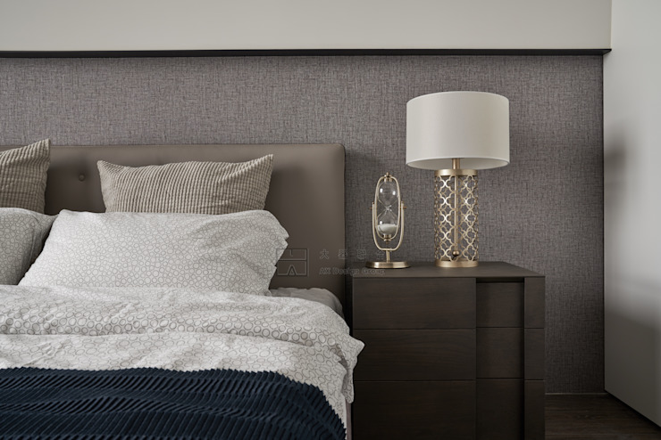 Scandinavian style bedroom by 大器聯合室內設計有限公司 Scandinavian
