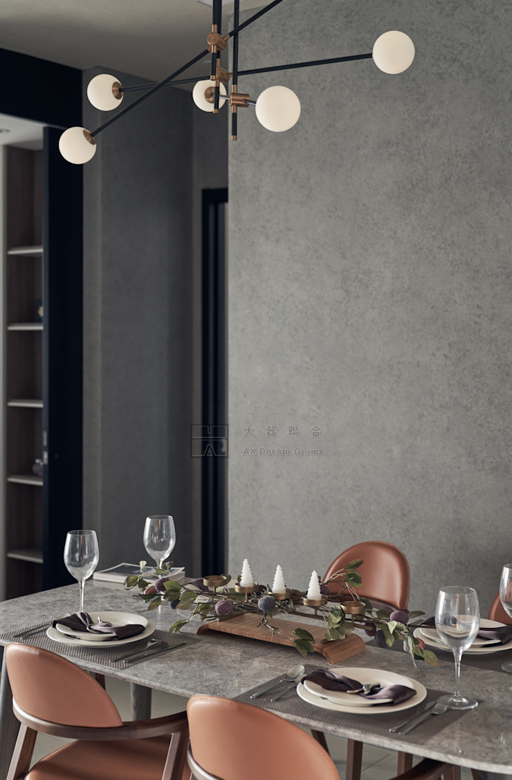 Scandinavian style dining room by 大器聯合室內設計有限公司 Scandinavian