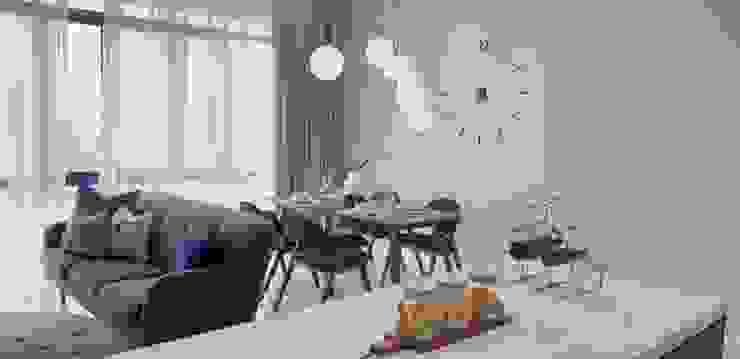 Dining Area Josh Thompson Interiors Scandinavian style dining room