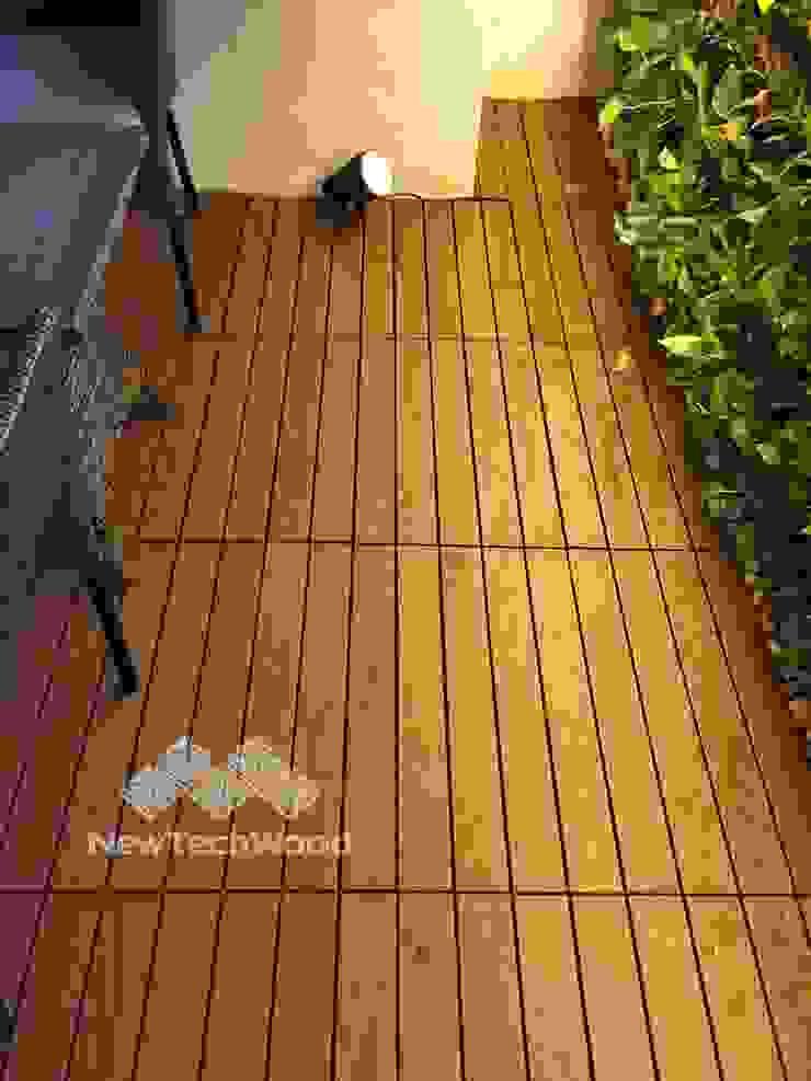 【陽台快組地板—替換南方松地板】 根據 新綠境實業有限公司