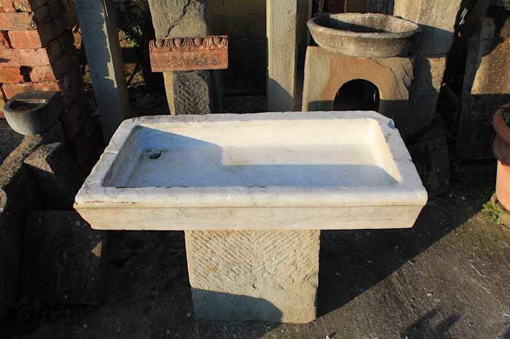 RECUPERANDO BRICK AND STONE KitchenSinks & taps Marble White