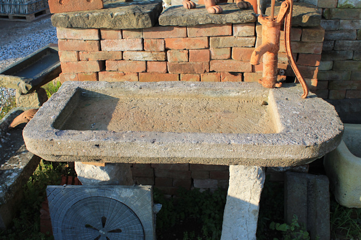 RECUPERANDO BRICK AND STONE KitchenSinks & taps Stone