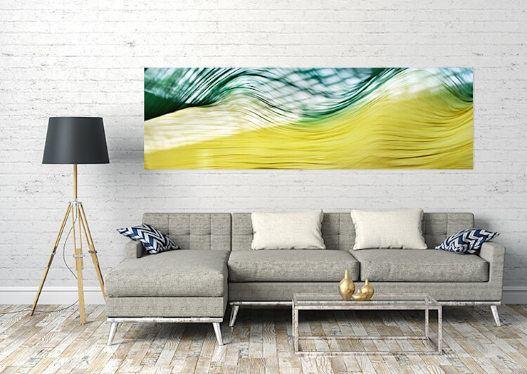 Modern living room by freiraum Akustik Modern