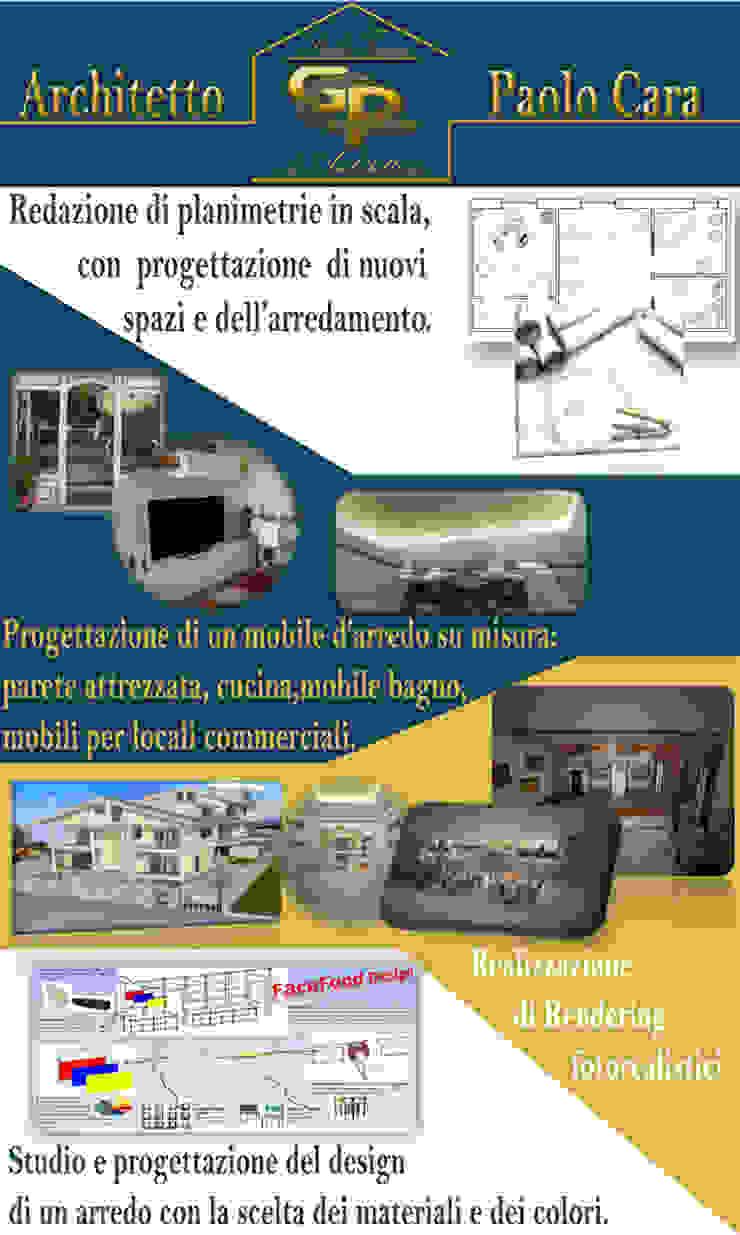 Progettazione Architetto Paolo Cara