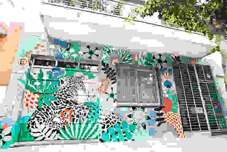 Reforma de una Casa de Ba75 Atelier de Arquitectura Moderno