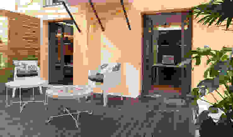 Oficinas calle Aragón Estudios y despachos de estilo moderno de ESTUDIO DE CREACIÓN JOSEP CANO, S.L. Moderno
