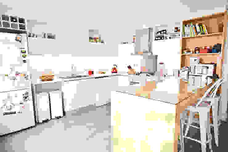 Reforma de una Casa Ba75 Atelier de Arquitectura Cocinas a medida