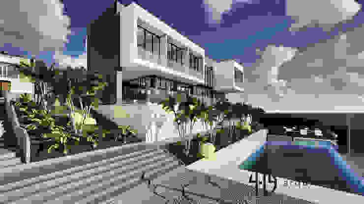 Diseño Arquitectónico - Finca Campestre Casas modernas de 4.19Arquitectos Moderno