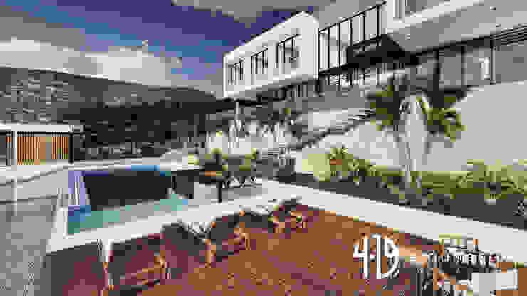 Diseño Arquitectónico – Finca Campestre Casas modernas de 4.19Arquitectos Moderno