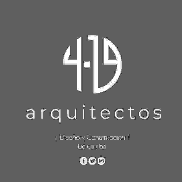 4.19 Arquitectos Casas modernas de 4.19Arquitectos Moderno