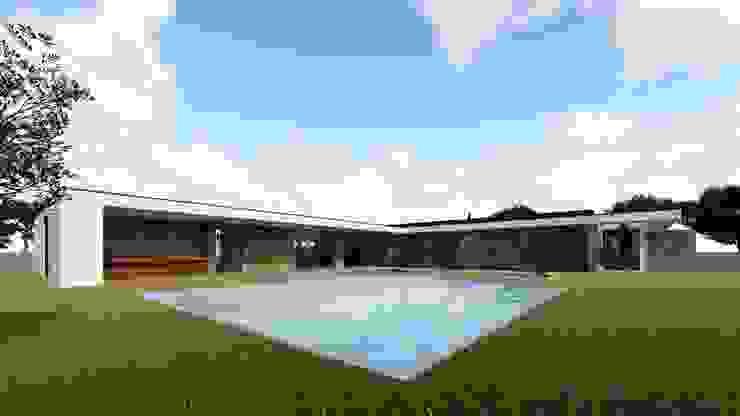 Casa da Meia Via Casas modernas por Miguel Zarcos Palma Moderno