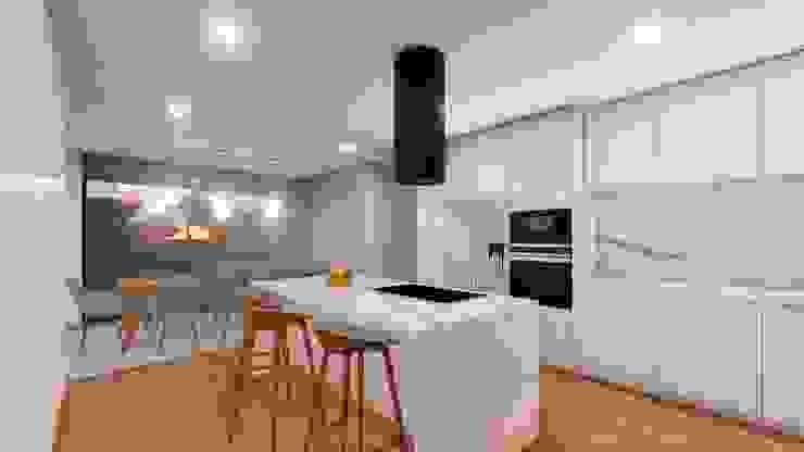 Casa da Meia Via Cozinhas modernas por Miguel Zarcos Palma Moderno