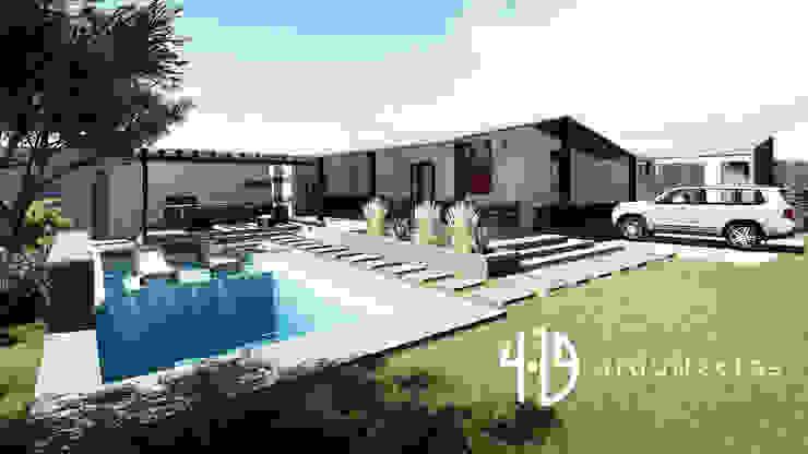 Diseño - Remodelacion - Zona BBQ de 4.19Arquitectos Moderno