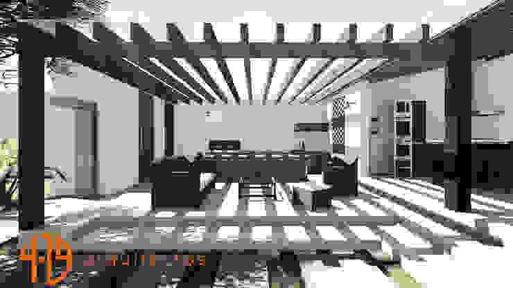 Diseño – Remodelacion – Zona BBQ de 4.19Arquitectos Moderno