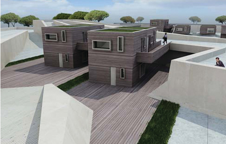 Complesso residenziale - Spagna The Green H LLP Case moderne