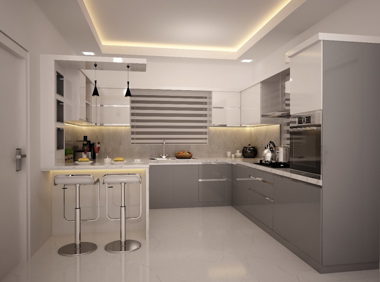 Residential Interior by Aryant Structures Private Limited