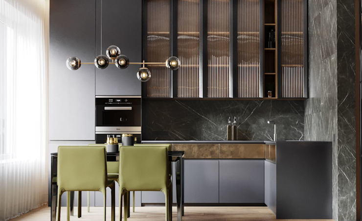 SRS Studio Cocinas de estilo minimalista
