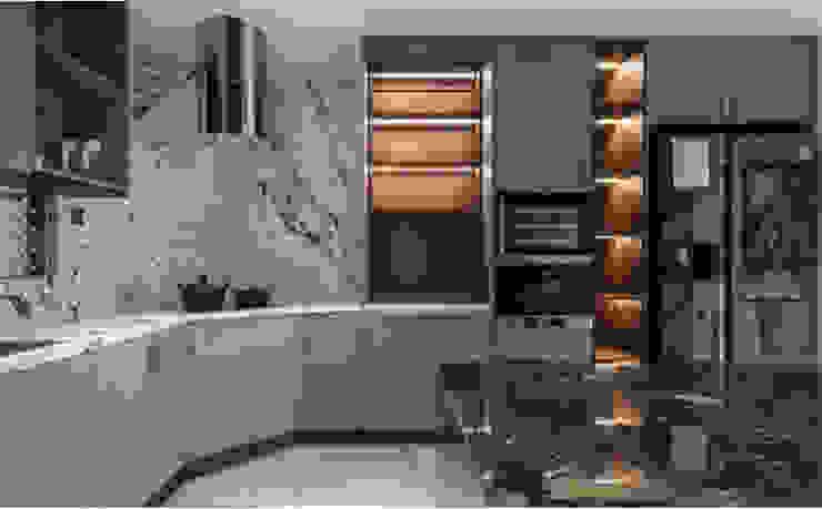 THIẾT KẾ NỘI THẤT CHUNG CƯ MULBERRY LAND Nhà bếp phong cách kinh điển bởi Neo Classic Interior Design Kinh điển