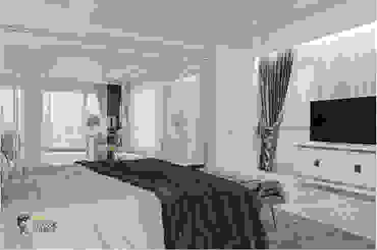 THIẾT KẾ NỘI THẤT BIỆT THỰ ĐÔI Ở BÌNH DƯƠNG – SANG TRỌNG VÀ ĐẲNG CẤP Phòng ngủ phong cách kinh điển bởi Neo Classic Interior Design Kinh điển