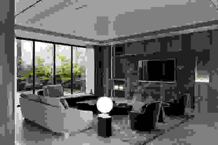 THIẾT KẾ NỘI THẤT BIỆT THỰ ĐÔI Ở BÌNH DƯƠNG – SANG TRỌNG VÀ ĐẲNG CẤP Phòng giải trí phong cách kinh điển bởi Neo Classic Interior Design Kinh điển