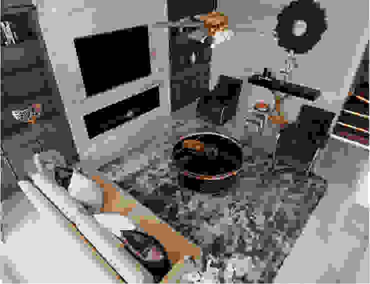 BIỆT THỰ STARLAKE VILLA TÂN CỔ ĐIỂN – TÂY HỒ TÂY, HÀ NỘI Phòng khách phong cách kinh điển bởi Neo Classic Interior Design Kinh điển