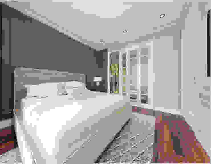 BIỆT THỰ STARLAKE VILLA TÂN CỔ ĐIỂN – TÂY HỒ TÂY, HÀ NỘI Phòng ngủ phong cách kinh điển bởi Neo Classic Interior Design Kinh điển