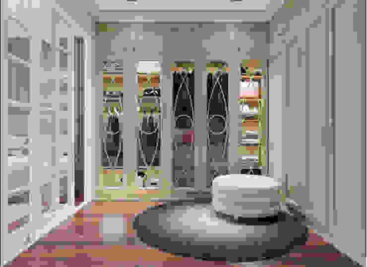 BIỆT THỰ STARLAKE VILLA TÂN CỔ ĐIỂN – TÂY HỒ TÂY, HÀ NỘI Phòng thay đồ phong cách kinh điển bởi Neo Classic Interior Design Kinh điển