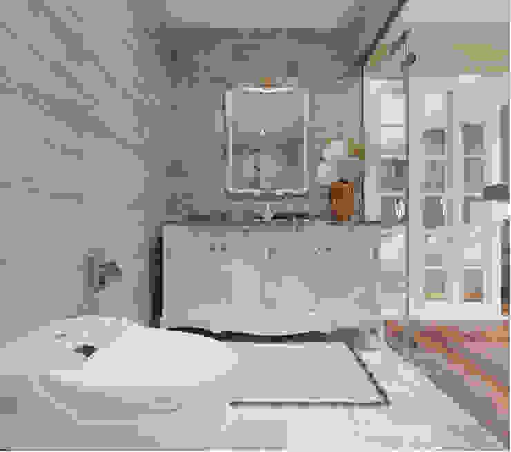 BIỆT THỰ STARLAKE VILLA TÂN CỔ ĐIỂN – TÂY HỒ TÂY, HÀ NỘI Phòng tắm phong cách kinh điển bởi Neo Classic Interior Design Kinh điển