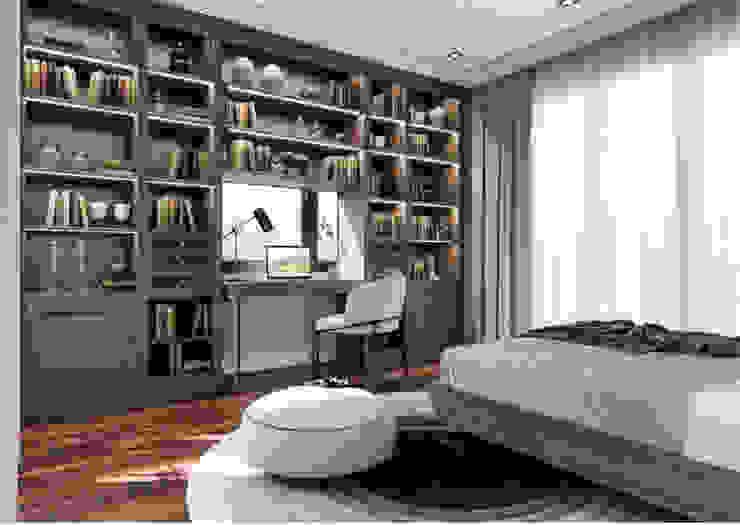 BIỆT THỰ STARLAKE VILLA TÂN CỔ ĐIỂN – TÂY HỒ TÂY, HÀ NỘI Phòng giải trí phong cách kinh điển bởi Neo Classic Interior Design Kinh điển