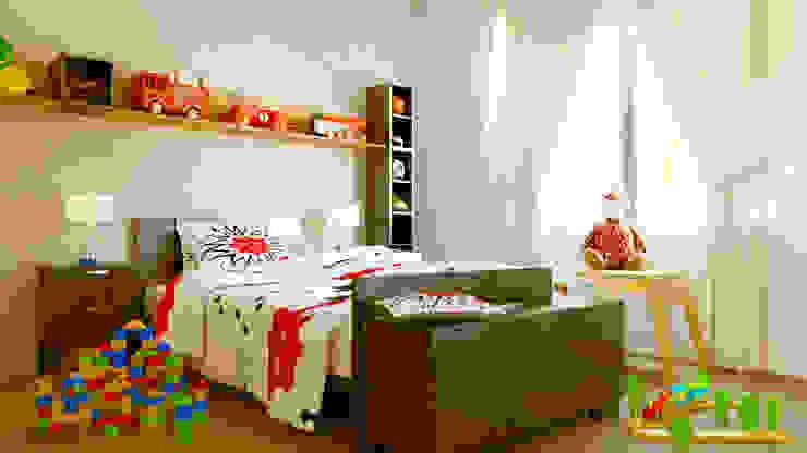 Diseño Interior de Habitación Infantil Architecture Means Habitaciones de niños Madera Beige