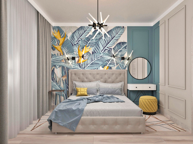 AnARCHI Eclectic style bedroom