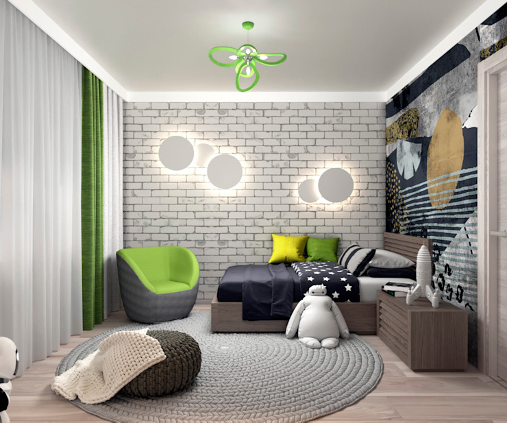 AnARCHI Eclectic style nursery/kids room