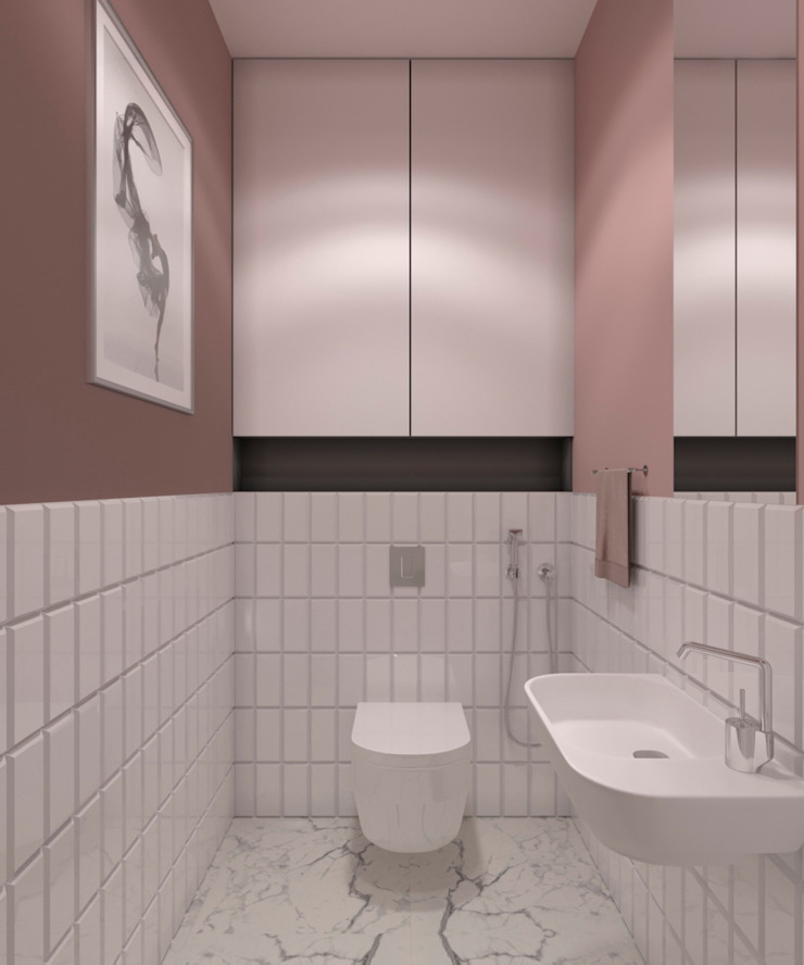 AnARCHI Eclectic style bathroom