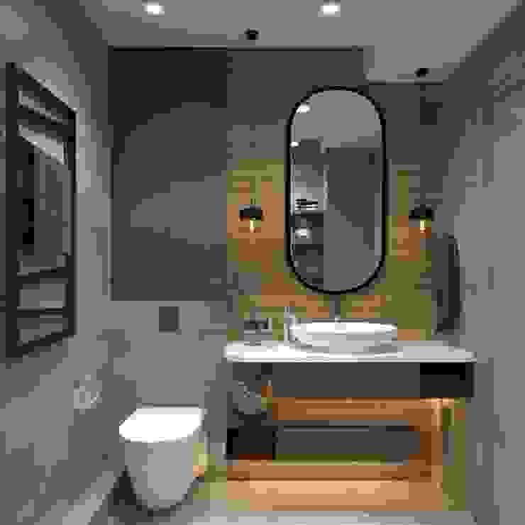 AnARCHI Minimalist bathroom