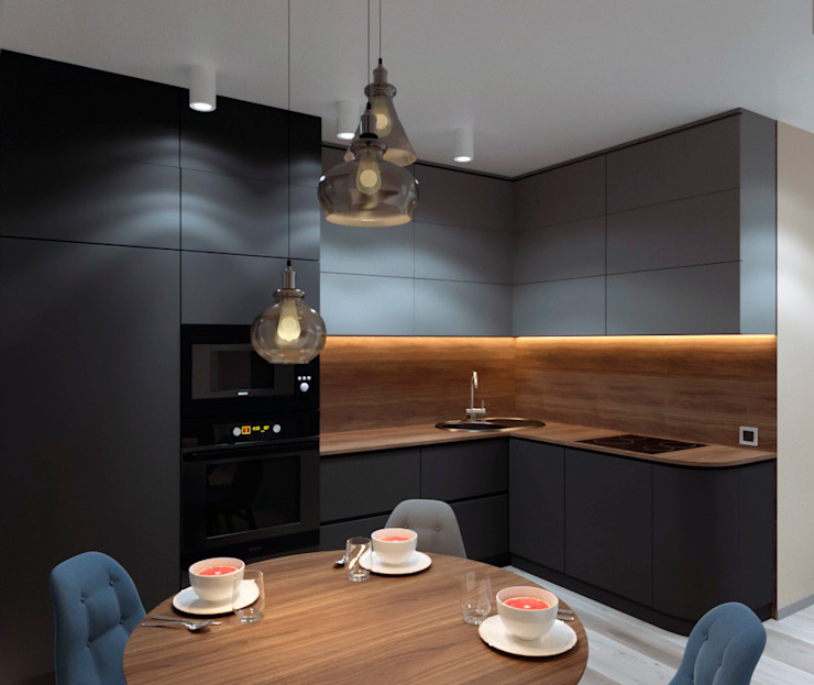 AnARCHI Minimalist kitchen