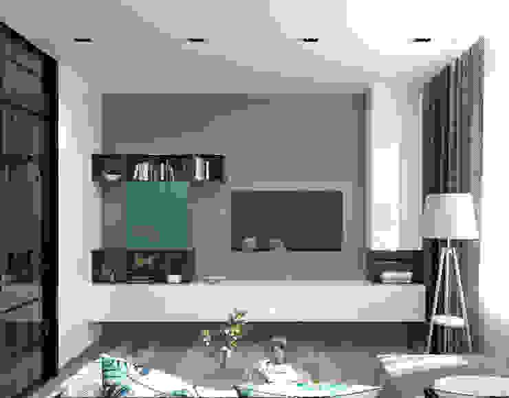 AnARCHI Minimalist living room