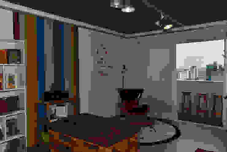 Portal do Envelhecimento - Sala Multiuso Enzo Sobocinski Arquitetura & Interiores Escritórios ecléticos Ferro/Aço Multi colorido