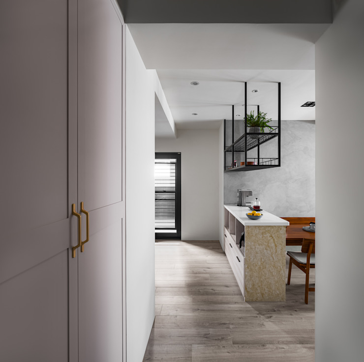 築室室內設計 Modern Corridor, Hallway and Staircase