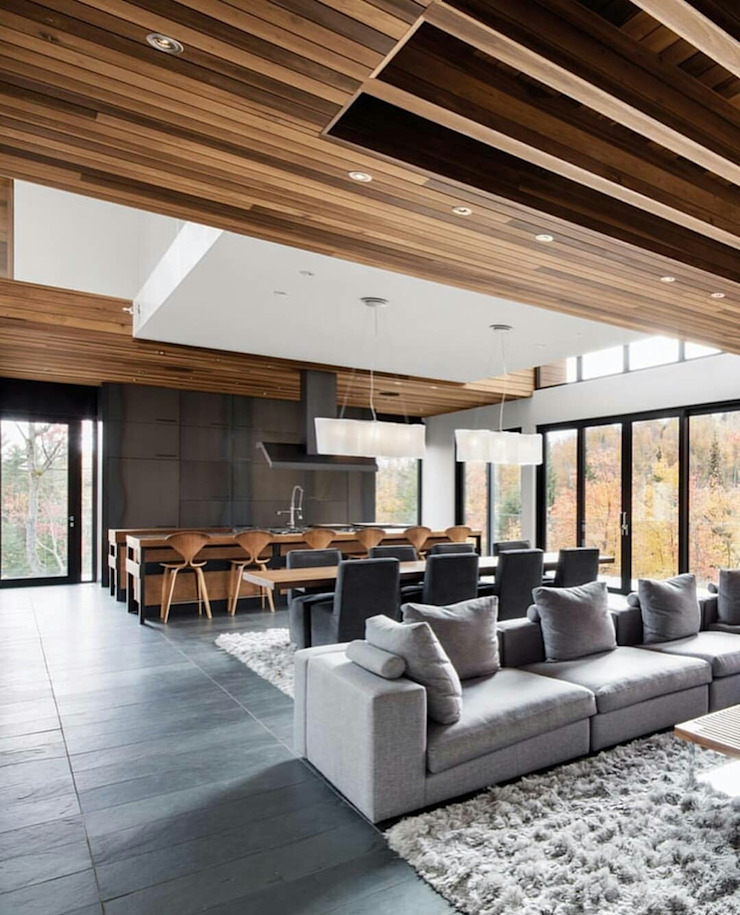 Green Living Ltd Living room Solid Wood