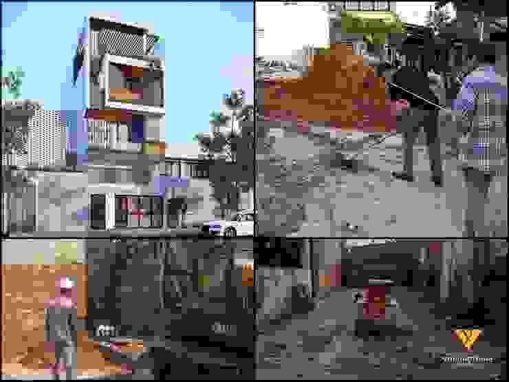 Nhà phố Đà Nẵng – Mr. Nhân bởi Công ty TNHH Xây dựng & Thương mại Vũ Hưng Thịnh
