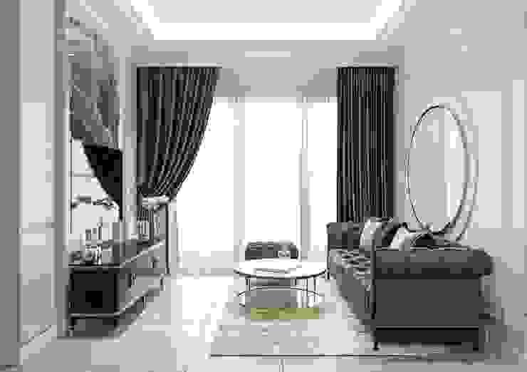 Căn hộ one verandah quận 2 Thiết kế nội thất ICONINTERIOR Phòng khách
